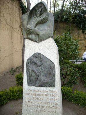 Busto de la Celestina