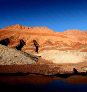 Parque Geológico Danxia en China