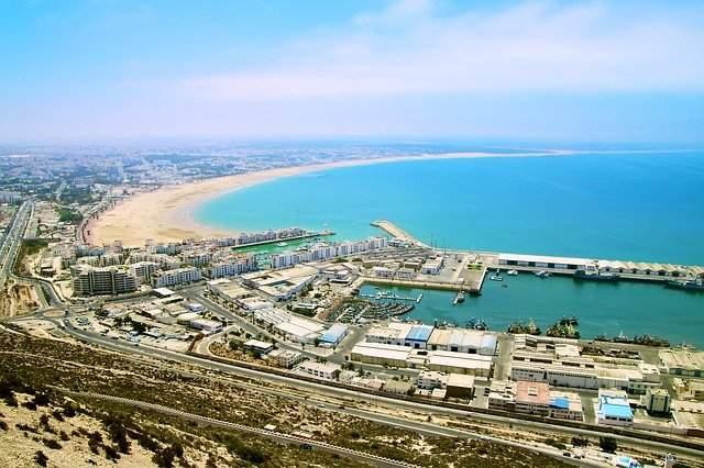 Vista de Agadir