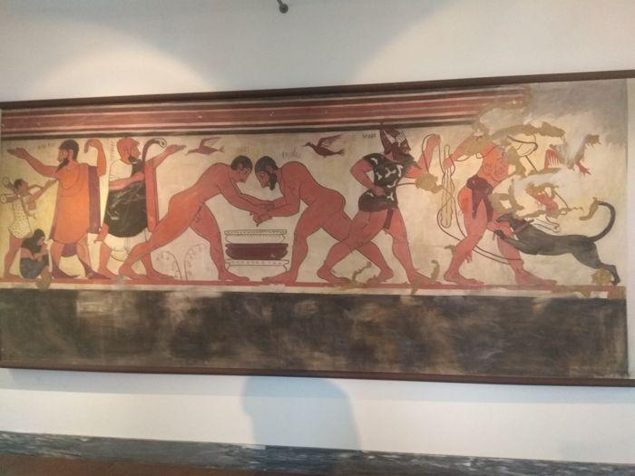 Cámara tumba etrusca