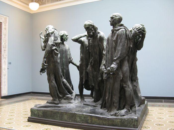 Los burgueses de Calais - Auguste Rodin