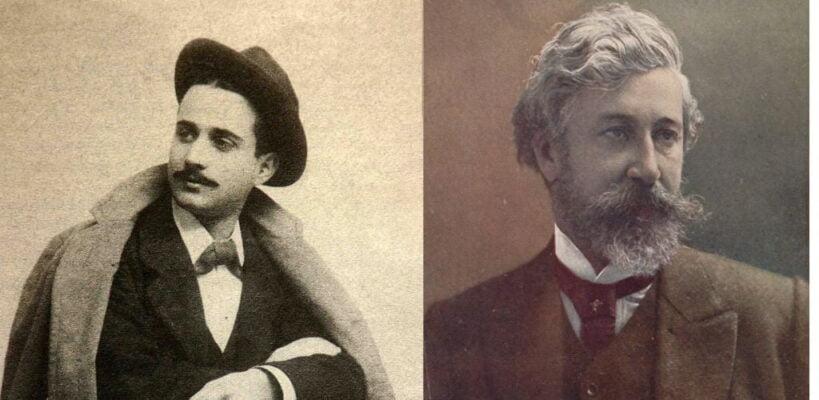 Miguel Mihura y Santiago Rusiñol