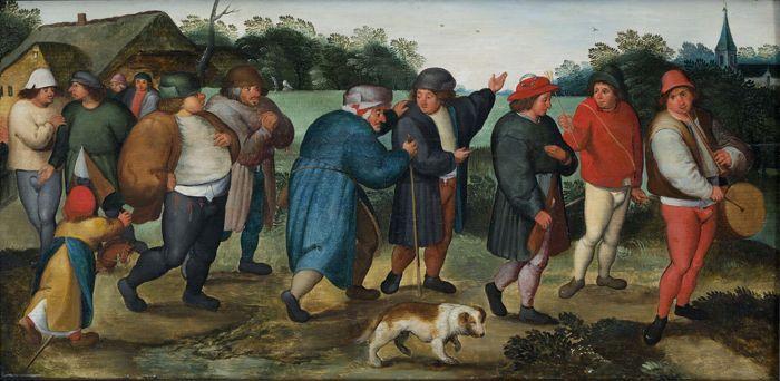 Boda de un campesino (1558-1560) Marten Van Cleve