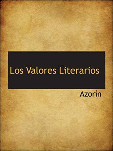 Los valores literarios