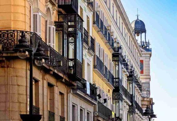 Fachada en Madrid