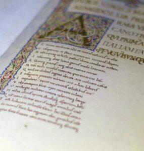 El texto y las formas