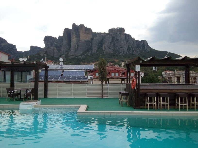 Hotel en Meteora.