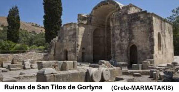 Ruinas de San Titos de Gortyna