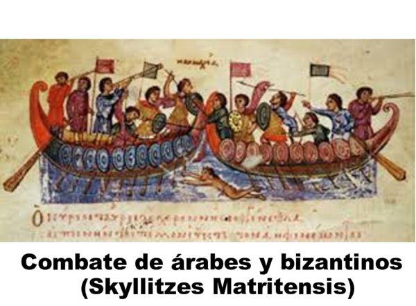 combate árabe bizantino