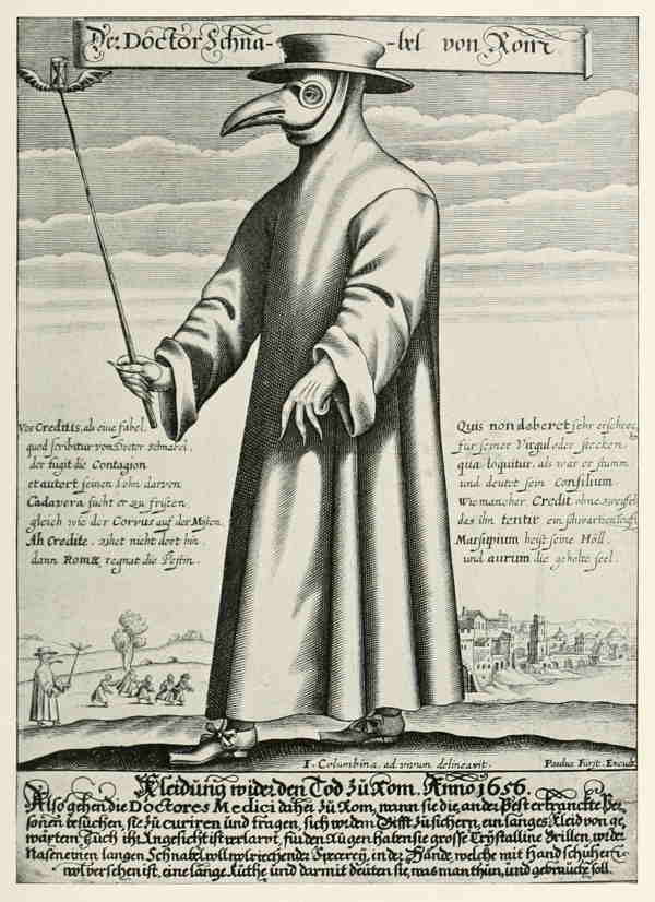 Der Doctor Schnabel von Rom