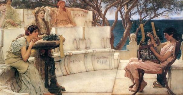 Poesía griega Antigüedad