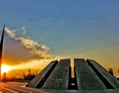 Tsitsernakaberd, él monumento del holocausto