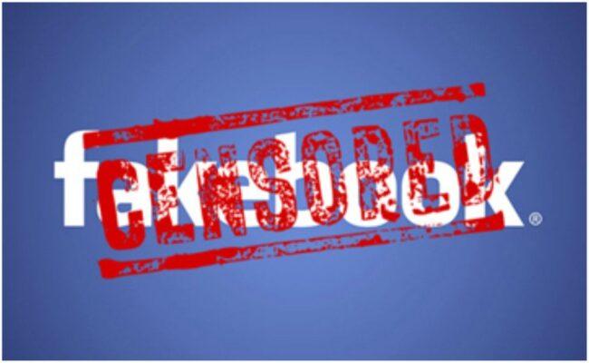 Censura en facebook