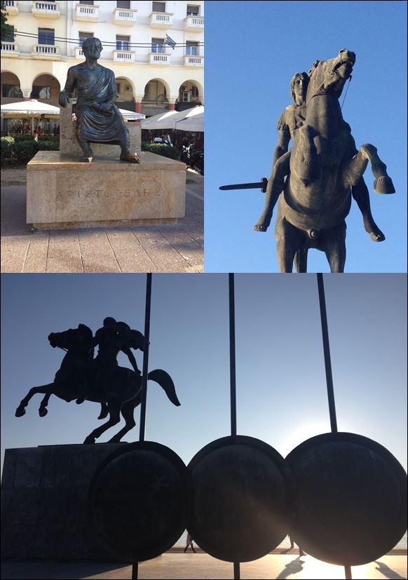 Aristóteles – Alejandro Magno