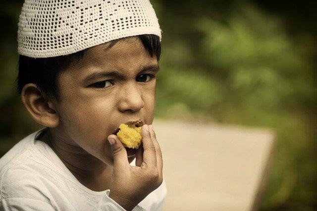 ruptura del ayuno del sagrado mes de ramadán