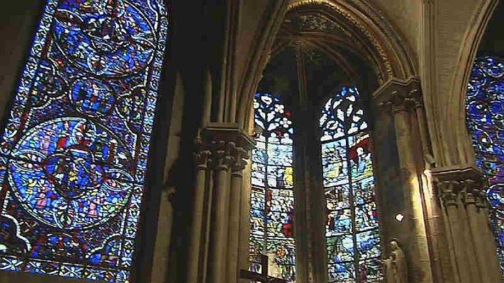 Capilla de la catedral de Bourges