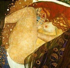 Danae de Gustav Klimt.
