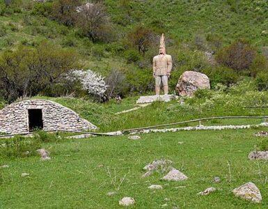 El túmulo de Issyk